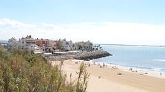 Vista general de la Playa de la Muralla
