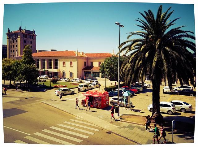 Estación de trenes Santander