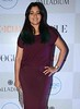 Television actress Narayani Shastri poses during the Vogue fashion's night, in Mumbai on Wednesday night. by legend_news