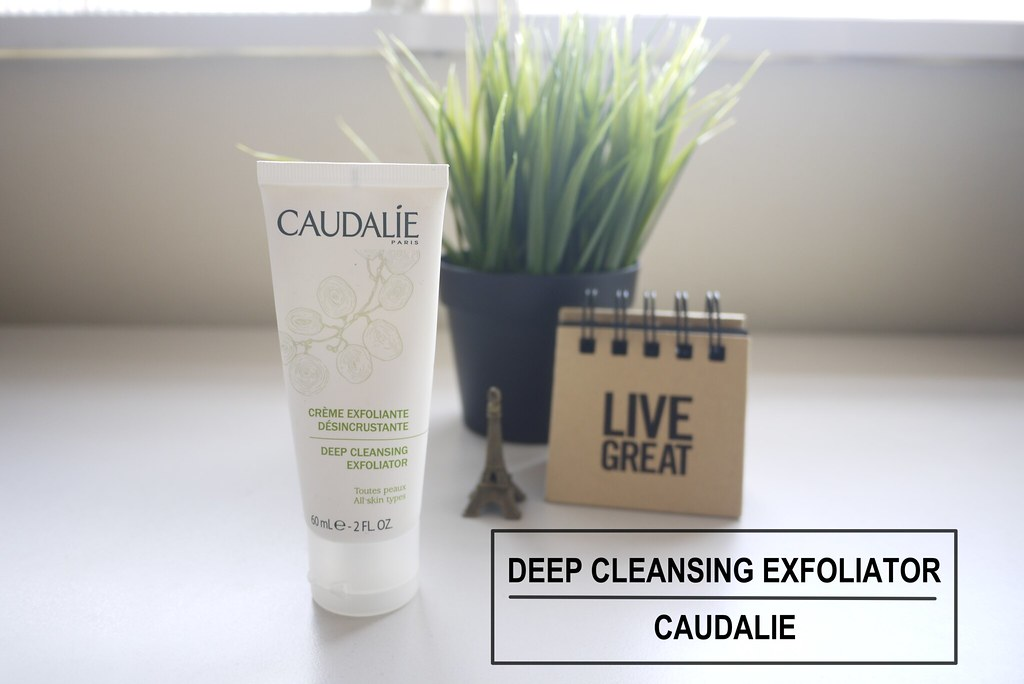 Nicole Cynnie | Caudalíe Deep Cleansing Exfoliator (Review)