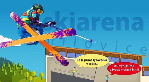 Zdokonalte svou lyžařskou nebo snb techniku na trenažéru Maxxtracks ve Skiareně Milovice s 10% slevou