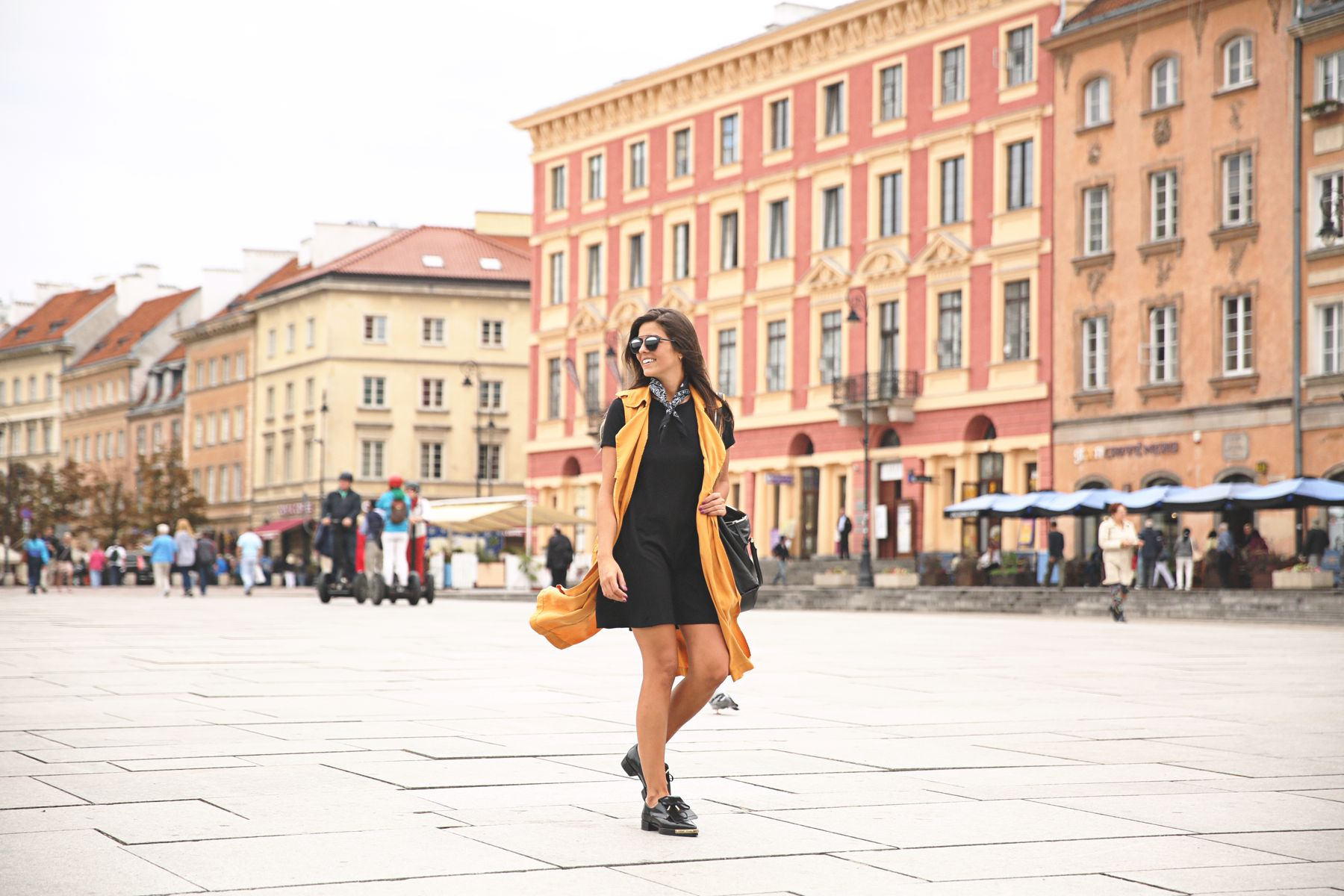 A walk in Warsaw