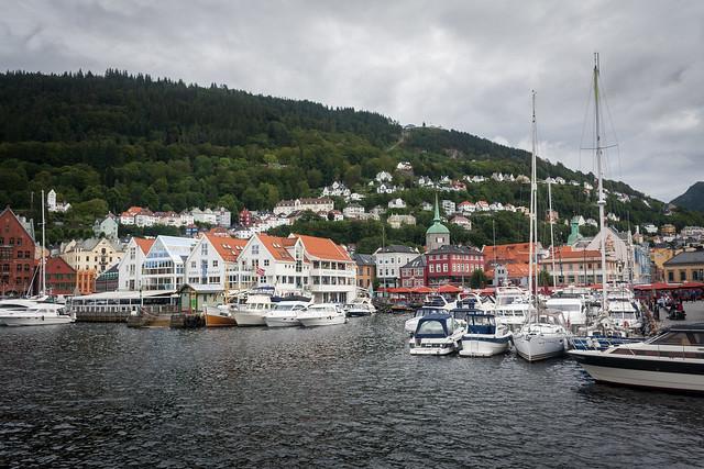Bergen harbour