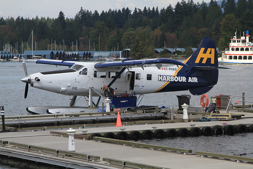 C-FHAS DHC-3 Turbine Otter Harbour air Vancouver 06-09-15