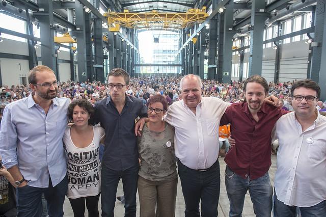 Acto de campaña en Sabadell
