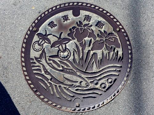 Komagane Nagano, manhole cover 4 (長野県駒ケ根市のマンホール4)