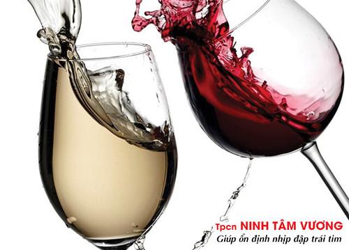 Uống rượu có thể gây rung nhĩ - một rối loạn nhịp tim nhanh