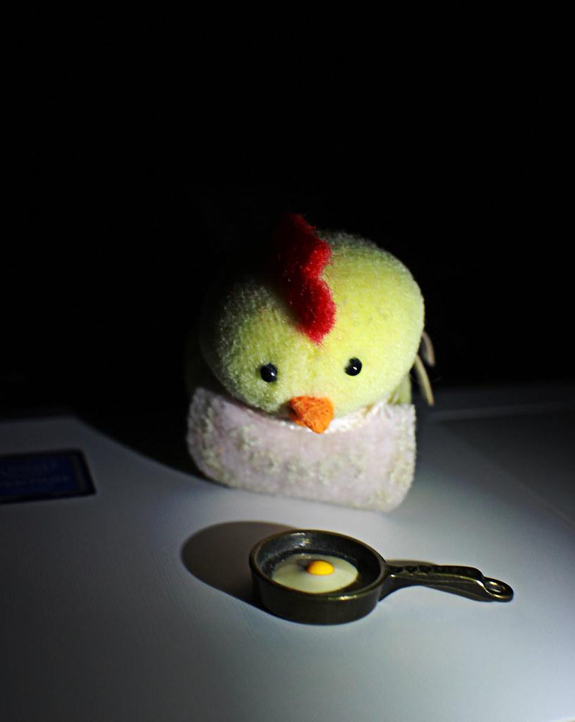 Who killed my baby! #sunnysideup