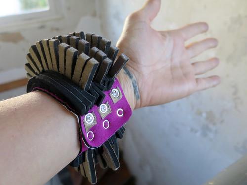 Stroke sensor bracelet