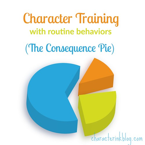 Character Training With Routine Behaviors (The Consequence Pie)