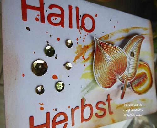 Kartenbasteln - Hallo Herbst 1