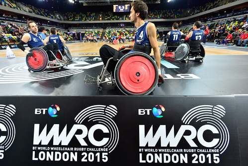 Rugby fauteuil / BT World Wheelchair Rugby Challenge