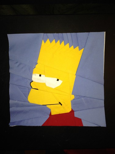 The Simpsons' Bart in 10x10