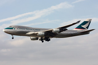 Cathay Pacific Airways Cargo Boeing 747-467F/SCD B-HUK