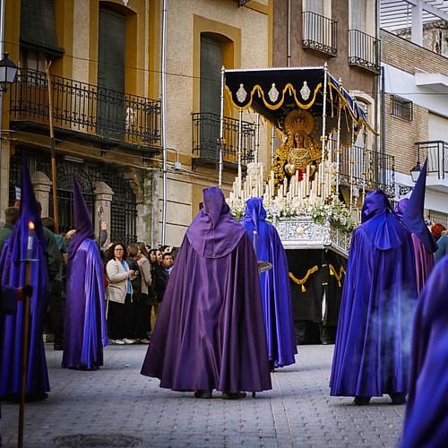 A procession in
