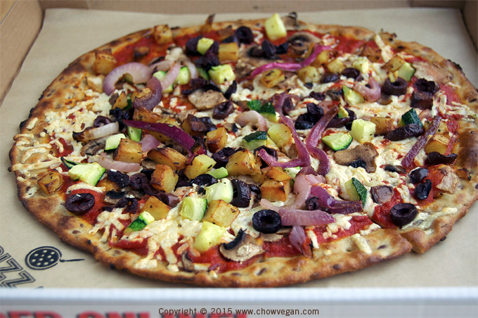 Vegan Pizza at Pizza Studio