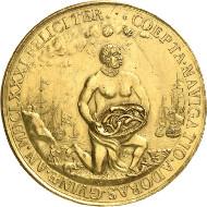 Gold medal of Frederick William obverse