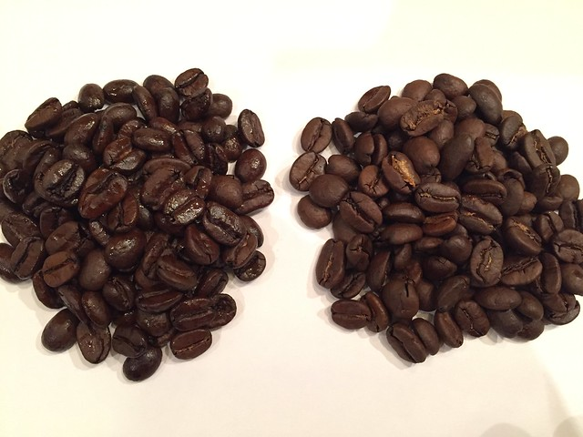 Roasting difference