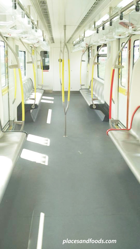 NEW LRT seatings