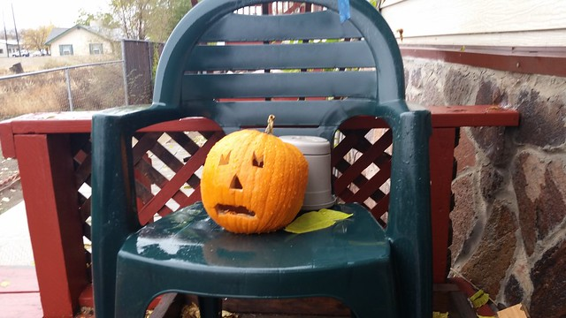 Ugly Pumpkin is Sad