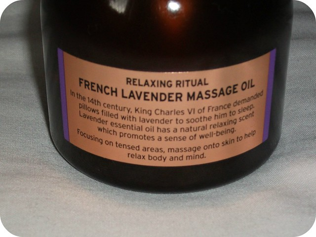 Relaxing Ritual French Lavender Massage Oil