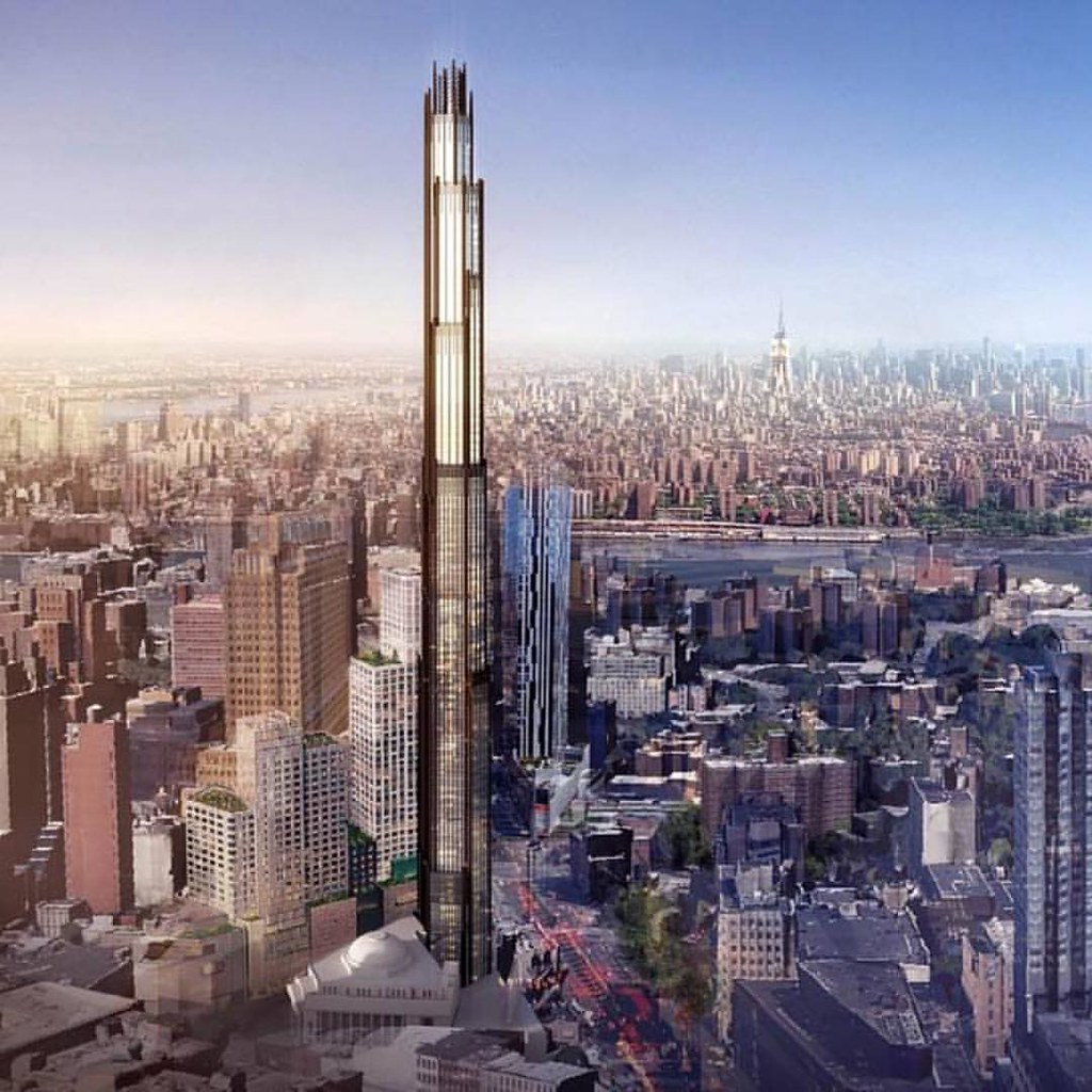 New York 9 Dekalb Avenue Flatbush Tower 325m