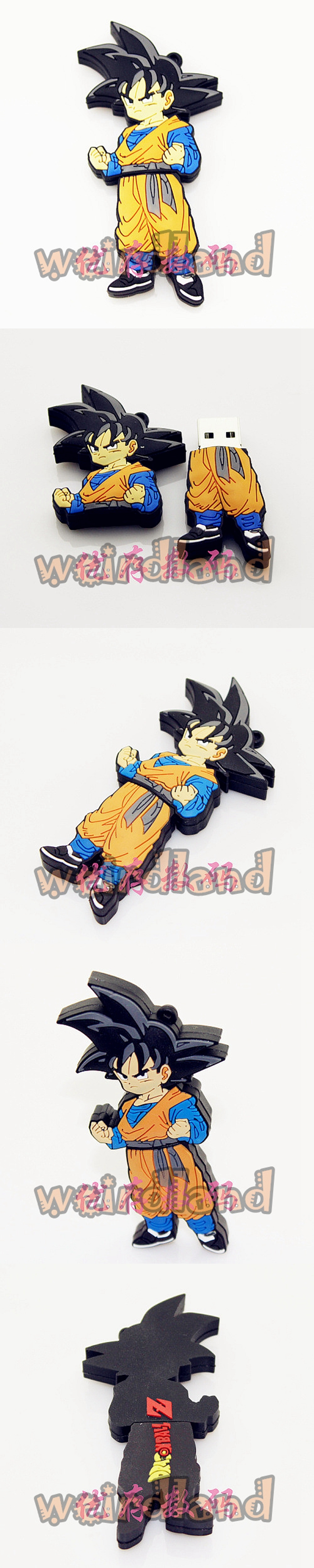 16GB Dragon Ball Quality USB Flash Drives WeirdLand Goku USB Stick