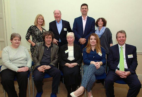 The Youth Horizons' Board of Management 2016. Mairéad Hughes SSL is seated in the front row (centre)