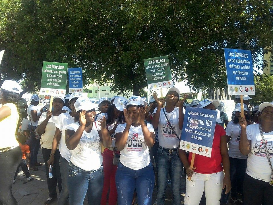 2015-12-10 Dominican Republic: Domestic workers demanding their rights as workers