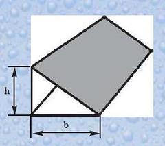 Profil sub forma de triunghi DL 25 (coltar cofrag)