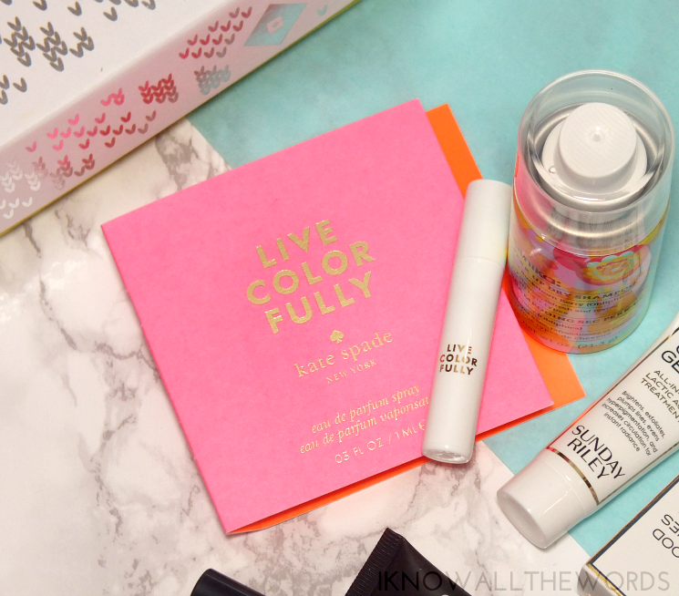 Give the Gift of Birchbox Kate Spade Live Colourfully