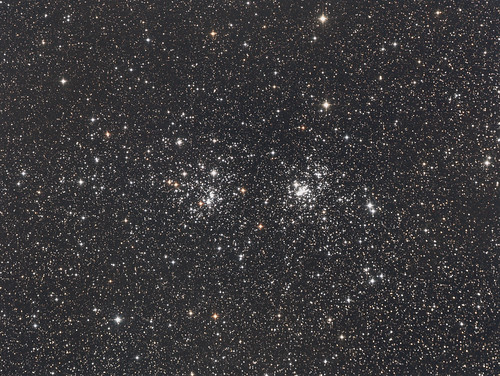 The Double Cluster, NGC 869 and NGC 884
