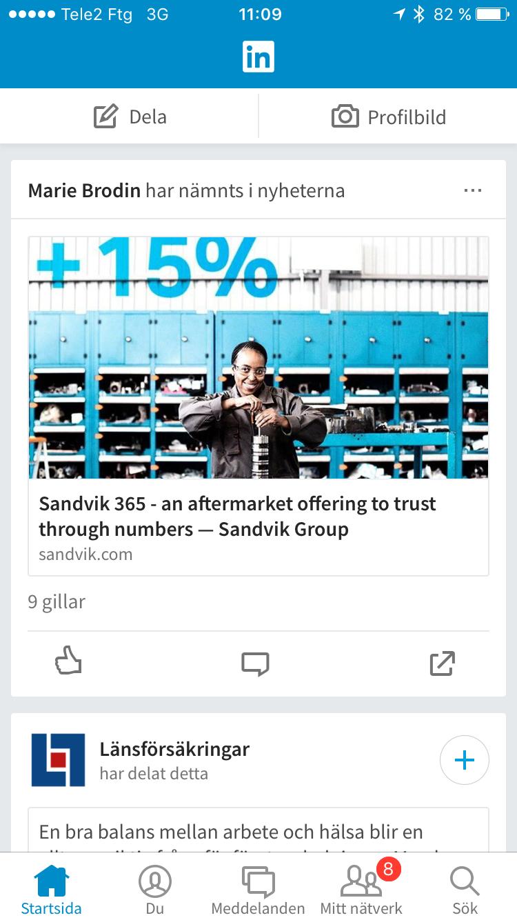 LinkedIn revamped