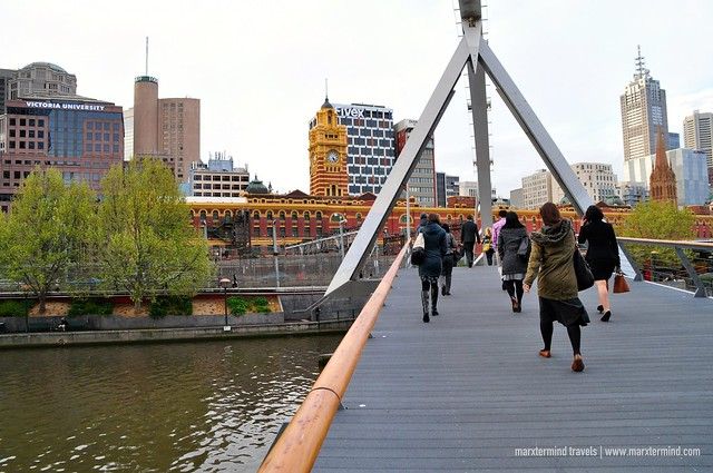 Southbank Pedestrian Bridge Melbourne