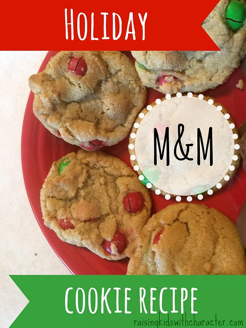 Holiday M&M Cookie Recipe