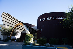 Doubletree by Hilton sign