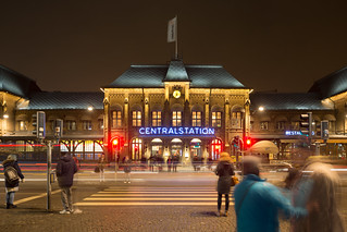 Gothenburg Central Station at Night