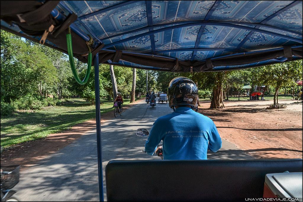 Tuktuk Camboya