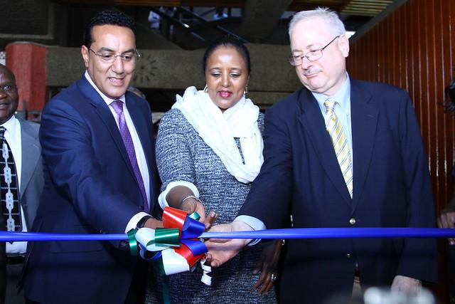 Handover of Kenya International Convention Centre to the WTO Secretariat