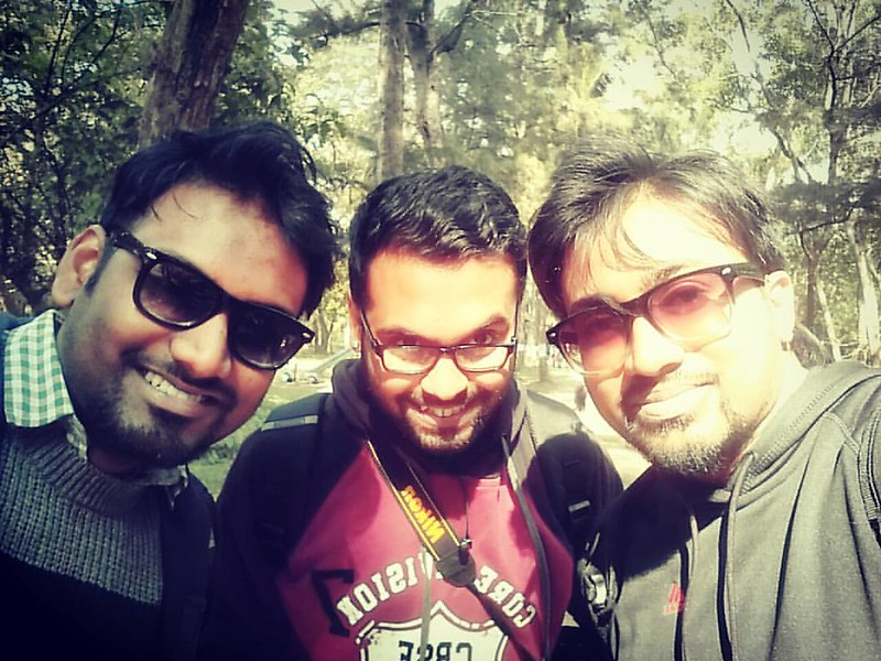 Sun is fun when its #winter #fun #instanature #hangout #sabujdwip