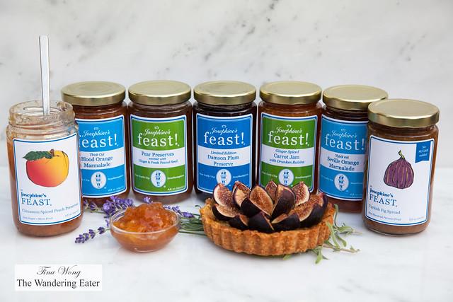 Josephine's Feast preserves and jams