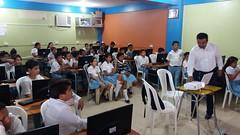 Municipalidad brinda charlas técnicas a estudiantes escolares
