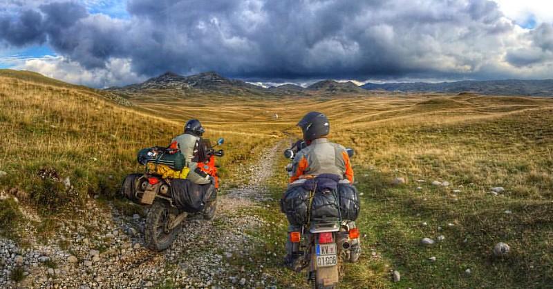 Enduro ride in Sinjajevina Montenegro. Beautiful landscapes to ride. Recommend for adv riders:) #adv #enduro #montenegro #advmontenegro #bike #motorcycle #landscape #mountains #yamaha #honda #ktm #dualsport #sinjajevina #instaphoto #trueadventure #ma