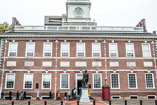 Image of Independence Hall. philadelphia pennsylvania leica leicax2 independencehall