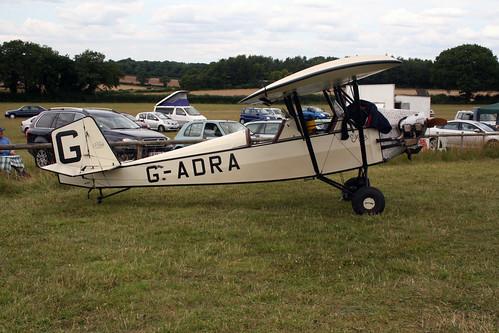 G-ADRA Pietenpol Aircamper [PFA 1514] Popham 270714
