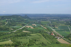View from Hohentwiel Fortress, 19.05.2012.