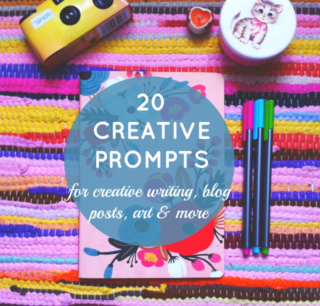 vivatramp creative prompts uk lifestyle  book blog