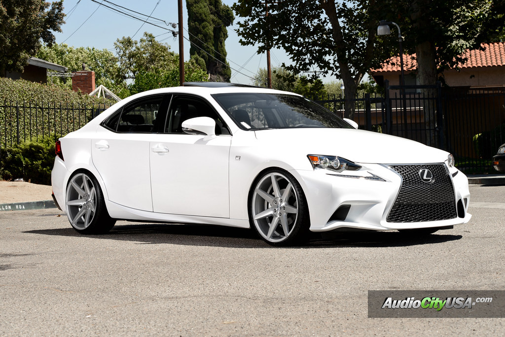 2015 Lexus Is 250 F Sport On 20 Rennen Wheels Crl 70 Brush Silver