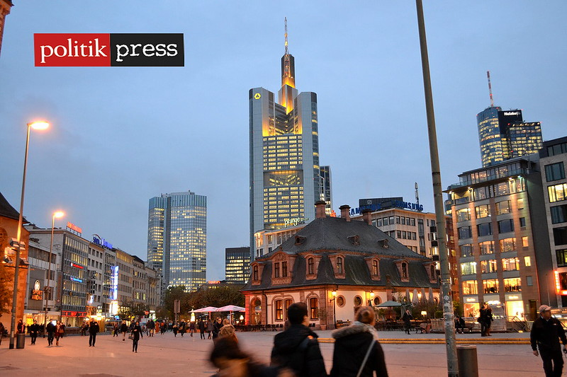 Frankfurt Alemania ciudades Politikpress