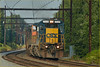 CSXT (train K038-28) - Yardley PA